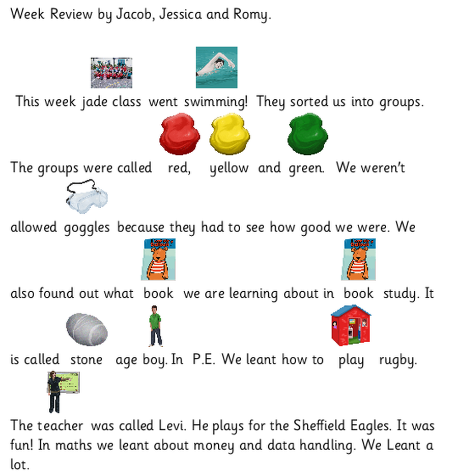 Review for week 4 of summer 1 term