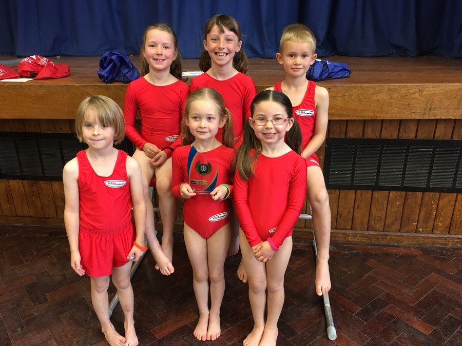 U7 Gym Team - 1st place!
