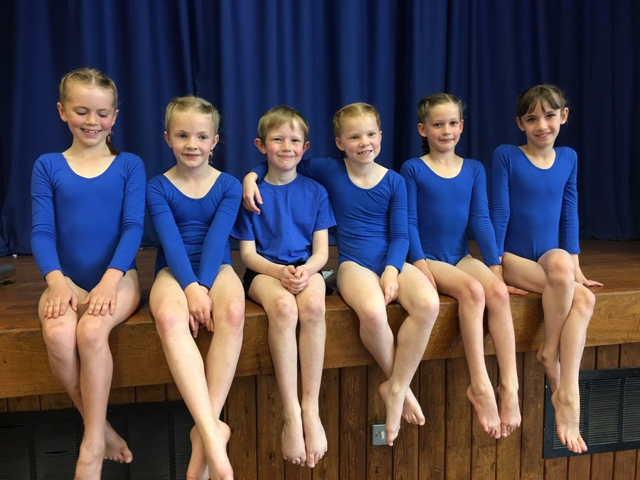 U9 Gym Team - 4th place!