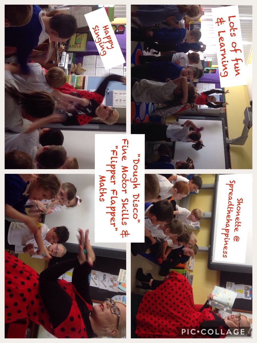 Shonette@spreadthehappiness visited our school for some amazing fun