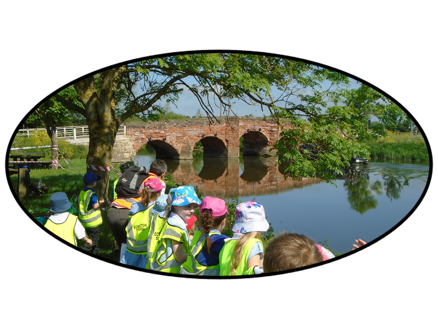 KS1 walk to Eckington Wharf