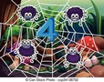 2 Year Olds - Number Webs