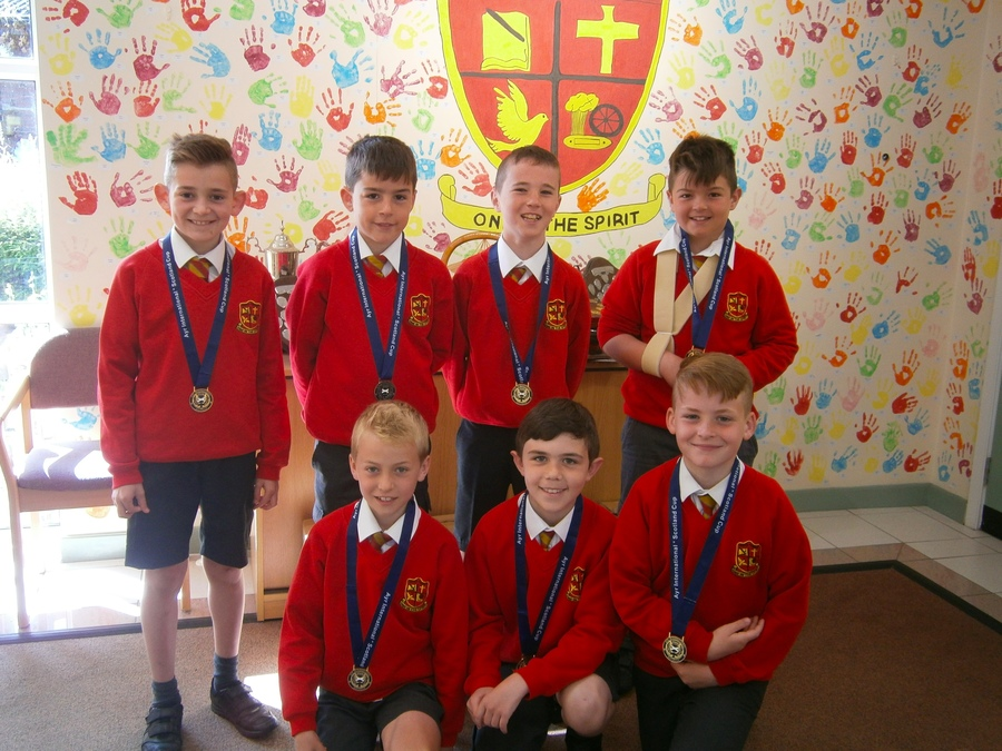 Boys who represented Banbridge Town Juniors Under 10s