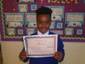 Year 3<p>Kai - for being an excellent role model to others</p>