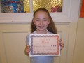 Year 3<p>Lola - for superb writing work and an excellent example to others</p>