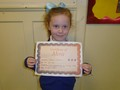 Year 1<p>Connie - for improvements in her writing</p>