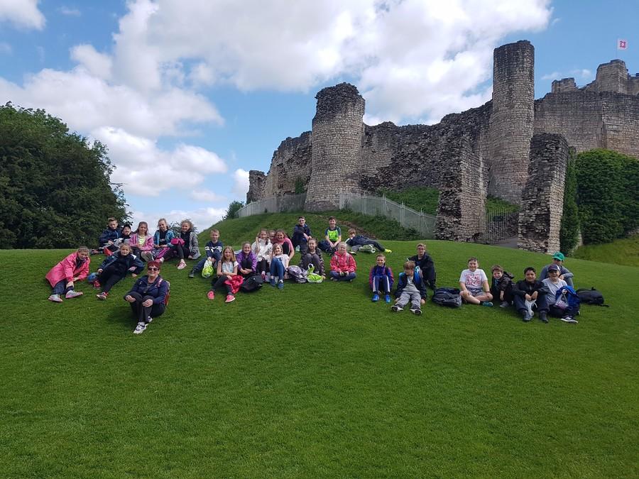 We've arrived at the castle