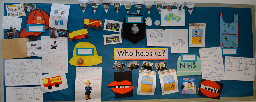 Our Nursery Learning Challenge Board Summer 1