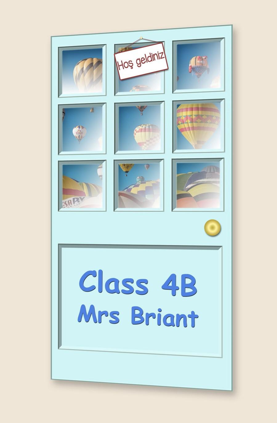 Go to Class 4B