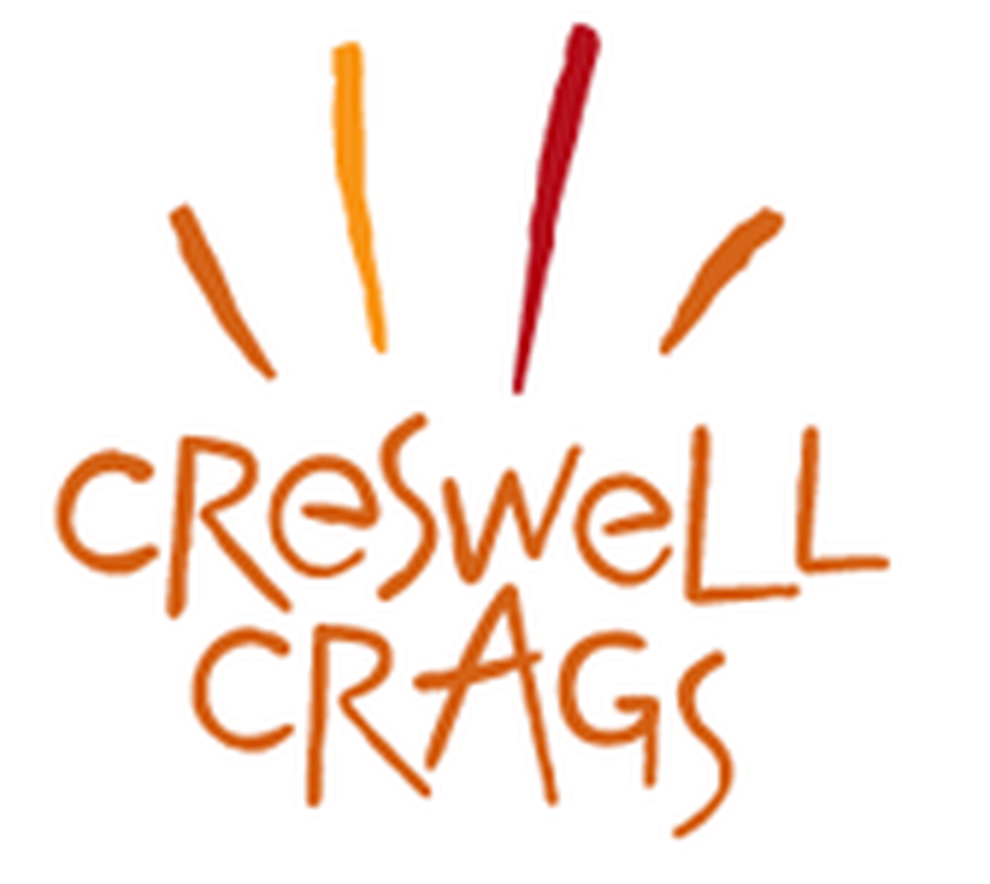 Click on the logo to head to the Creswell crags website
