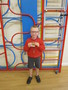 Jamie was presented with his rugby award, well done!