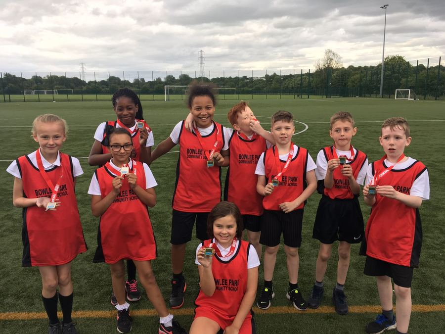 Well done to our golfers who finished second overall in the Rochdale school games