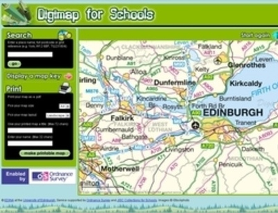 Digimap for Schools