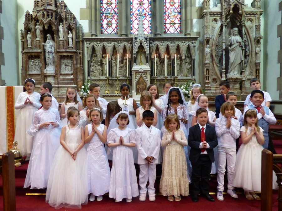 Congratulations To Our Children Who Made Their First Communion On Saturday