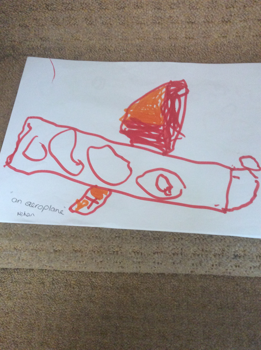 Drawing and painting pictures of vehicles that can take us on a holiday