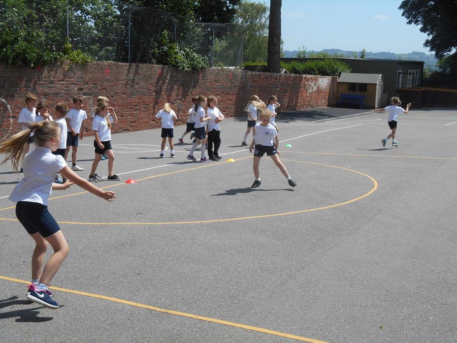 Games -Cricket warm up