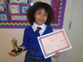 Year 3<p>Ghania - for a superb effort to listen and improve in all aspects of learning</p>