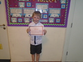 Year 2<p>Matthew - for trying so hard to join up his handwriting, keeping it neat & legible</p>