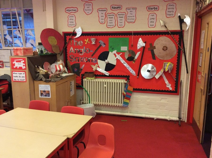 Our amazing Anglo-Saxon display.