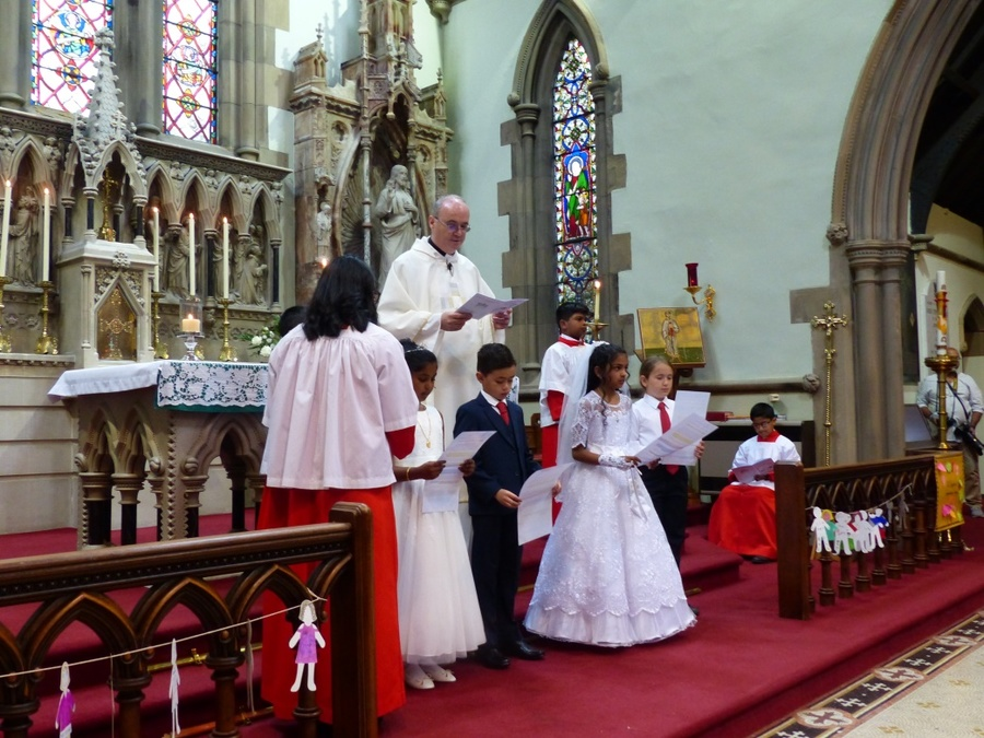 Holy Communion June 2017