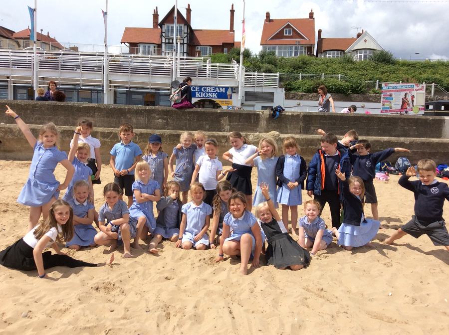 Here we are at Bridlington after taking part in the Little Big Sing.