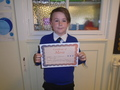Year 6<p>Sean - for continually striving to live up to the expectations of year 6</p>