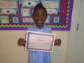 Year 2<p>Wezi - for confidently sharing her knowledge and experience of Zimbabwe during International Week</p>