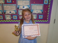 Year 3<p>Oliwia - for making a great effort learning her weekly spellings</p>