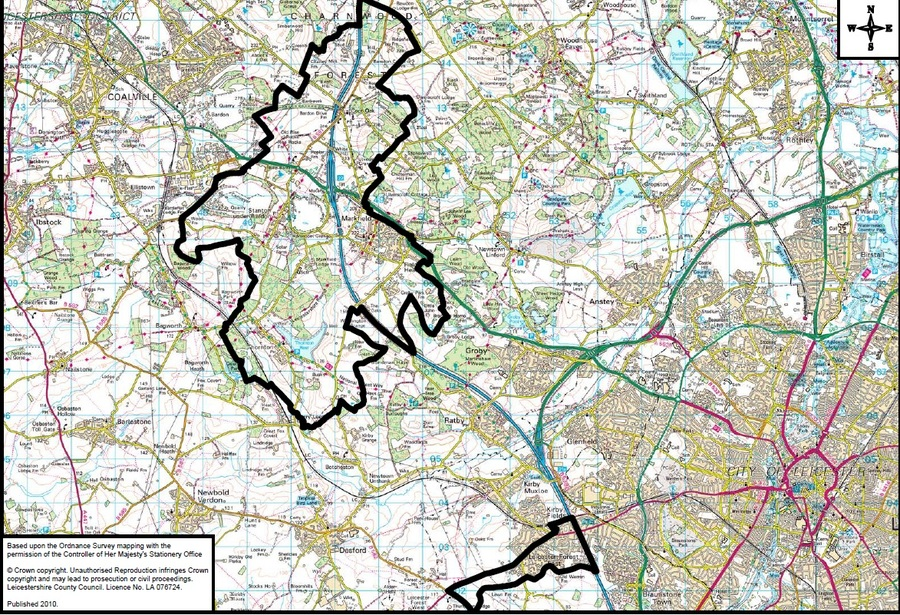South Charnwood High School Catchment Area