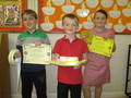 Lucas, Molly and Jack have all been re-graded at their Karate Club. Well done!