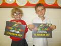 Well done to Bea and Alex who took part in the1K running event at the Festival of Running recently.