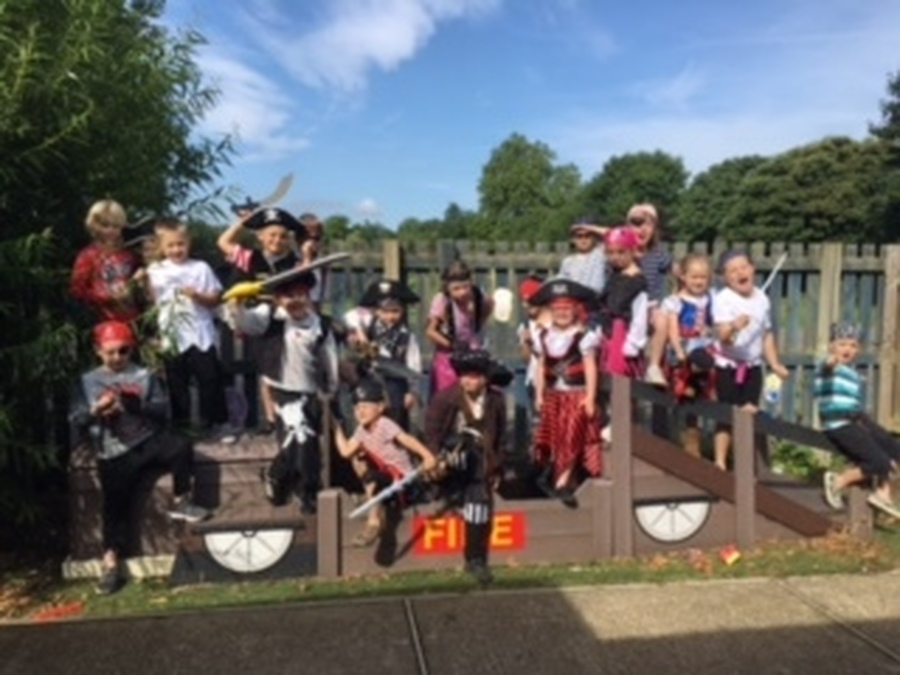 Reception and KS1 Pirate Day - July 2017