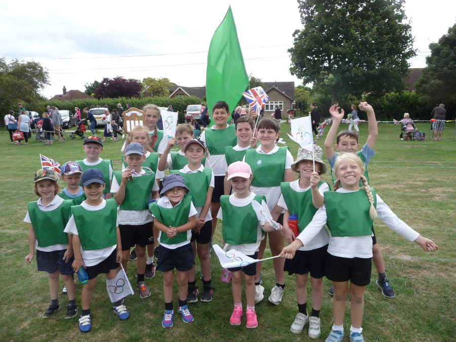 Winning Team: GREEN TEAM!
