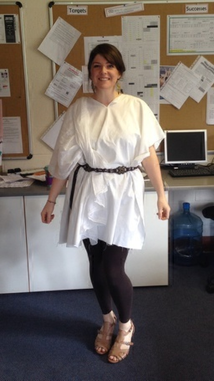 Dressing up for Roman Day