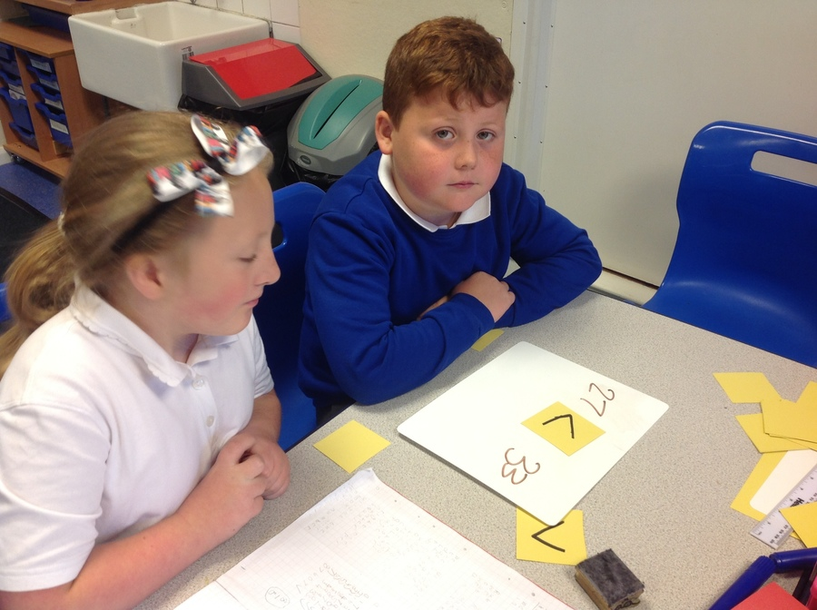 Jack & Kayleigh getting busy in Maths