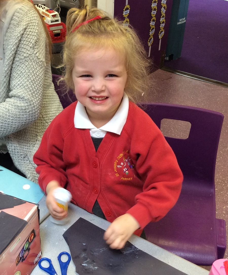 Sticky business in Reception class