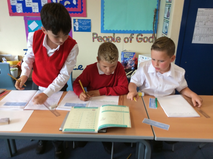 Year 5 get to grips with maths
