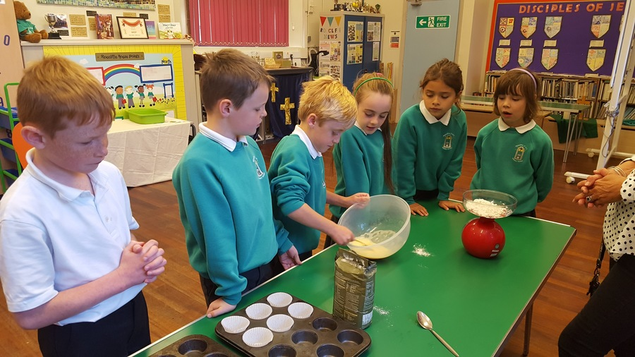 Making Roman Honey Cakes