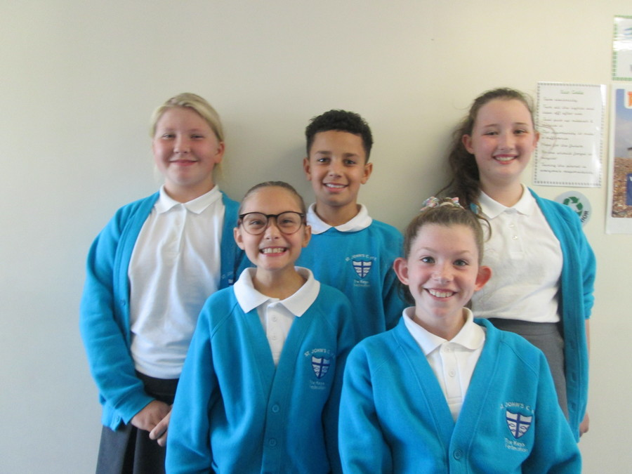 St Johns C Of E Primary School Abram Year 6 Office Assistants