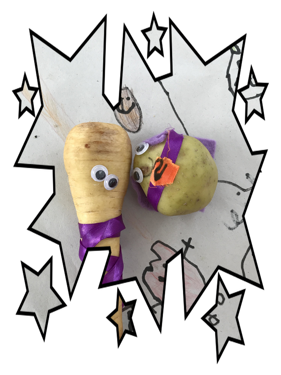 Meet Supertato and Evil Parsnip!