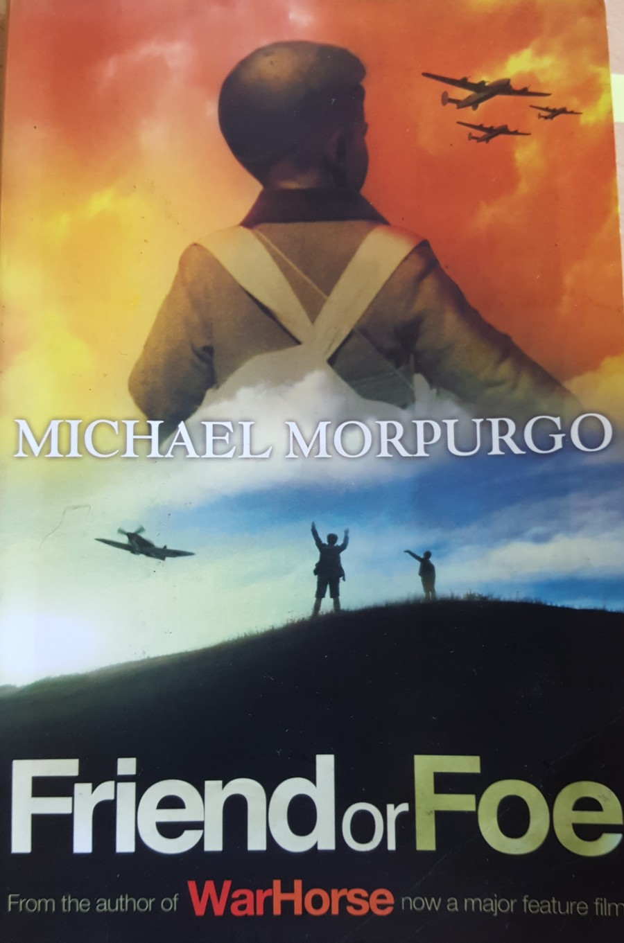 Our class novel for this half term is Morpurgo's 'Friend or Foe', set during WW2, and following the evacuation of David from London to Devon.