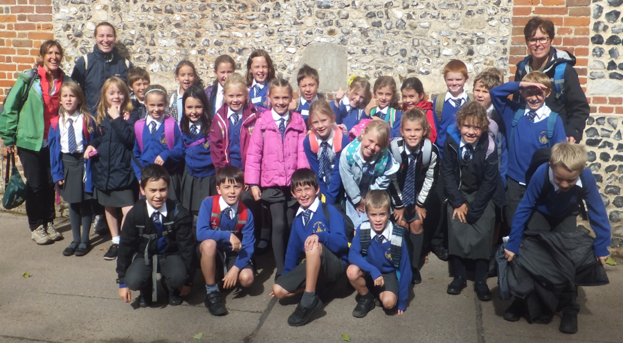 Year 4 at Marwell Zoo, Sept 2017.