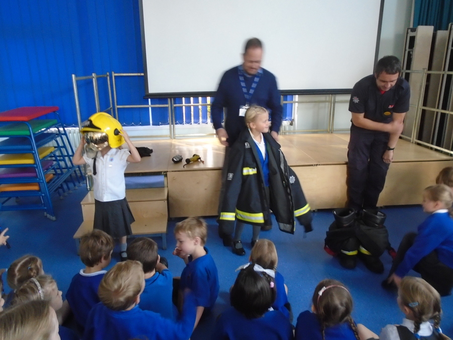Firefighter McCabe KS1 Visit