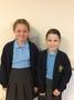 Katie Y5 and<p>Evie Y5 (Secretary)</p>