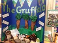 Reception book display on The Gruffalo