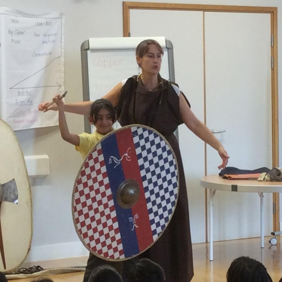 Year 3 Stone Age Workshop