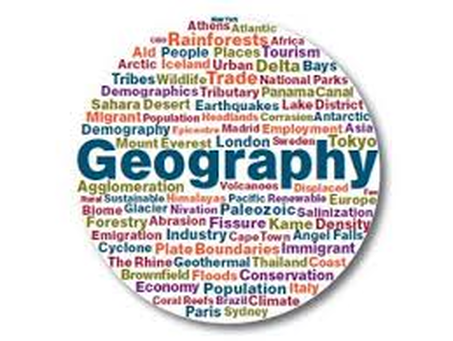 Geography  Upper Key Stage 2