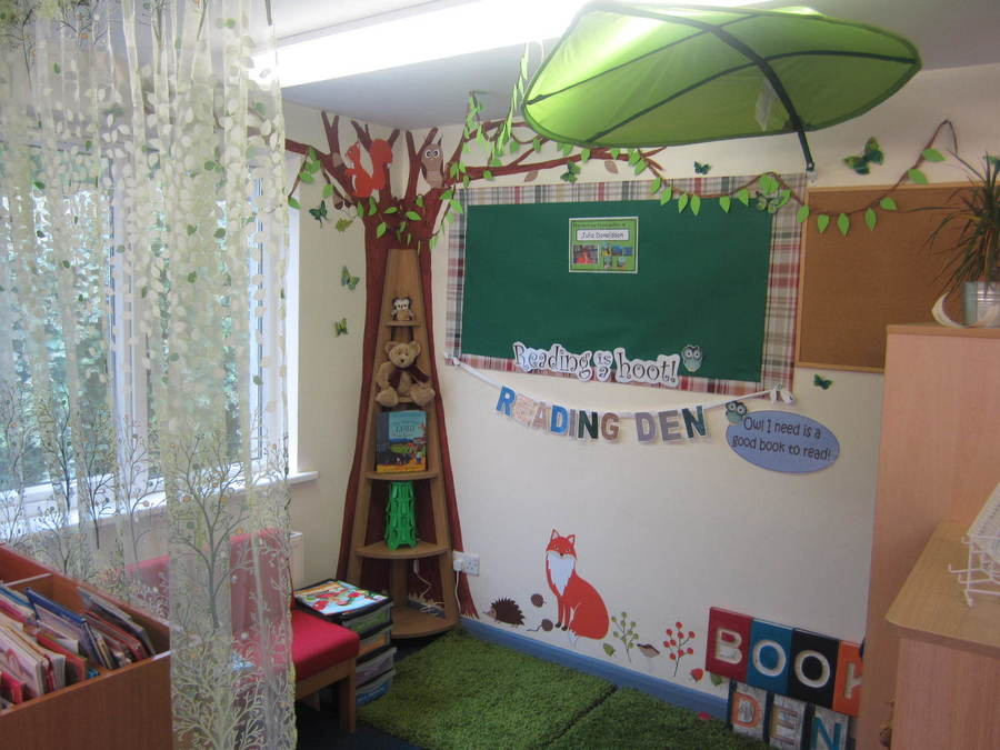 Our new reading area