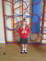 <p>Sammi Nicole shared her rugby badge with us, </p><p>given for increasing confidence<br></p>