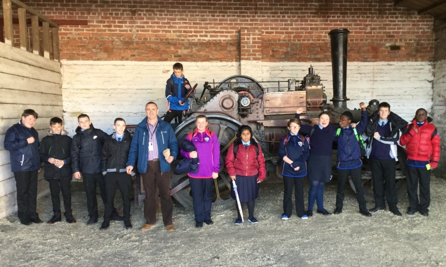 10B visit the Ulster Folk & Transport Museum